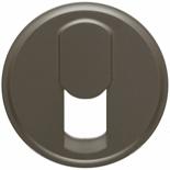 067937 - Лицевая панель для розетки телефонной, Легранд Селиан (графит)