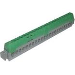 004836 - Клеммная колодка 1х6-25мм²+21х1.5-16мм², Legrand (зеленая)