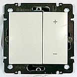 770062 - Диммер (Светорегулятор), 400 Вт Legrand Valena (белый)
