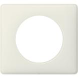 066701 - Рамка однопостовая Legrand Celiane, прямоугольная, 90х82мм (белая перкаль)