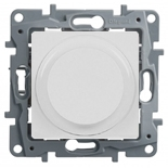 672219 - Светорегулятор (диммер) поворотный без нейтрали Legrand Etika, 300Вт (белый)