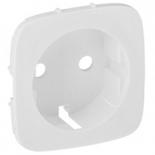 755205 - Лицевая панель для розетки 2К+З Legrand Valena Allure (белая)
