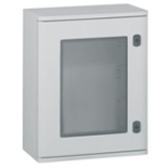 036283 - Шкаф Legrand Marina из полиэстра с остеклённой дверцей, вертикальный, IP66 IK10, белый (1020x810x300мм)