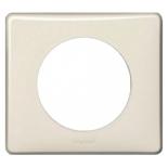 066621 - Рамка однопостовая Legrand Celiane, пластик (слоновая кость глянец)