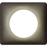 066740 - Рамка однопостовая Legrand Celiane, прямоугольная, 90х82мм (градиент)