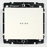 771034 + 775602 - Переключатель на 2 направления с подсветкой Legrand Galea Life, 10А (белый)
