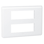 078836 - Рамка Legrand Mosaic, 2-секционная, 12-модульная (белая)