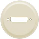 066287 - Лицевая панель для розетки аудио/видео HD15 (VGA), Legrand Celiane (слоновая кость)