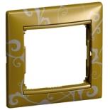 770020 - Рамка 1 пост Legrand Valena (Золото барокко)