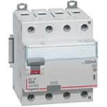 411733 - УЗО Legrand DX3-ID 40А/4P (500мА), тип АС