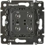 775653 - Механизм клавишного светорегулятора (диммера), 600 Вт, Legrand Galea Life