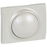 771568 - Лицевая панель для поворотных светорегуляторов (диммеров) Legrand Galea Life мощностью 400Вт, перламутр