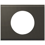 069391 - Рамка однопостовая Legrand Celiane, прямоугольная, 100х82мм, текстиль (шелковый жемчуг)
