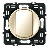 066200 + 067032 + 080251 - Кнопка одноклавишная Legrand Celiane 6А с клавишей (слоновая кость)