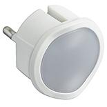 050676 - Ночник со встроенным светорегулятором, 10А, 230В, 0.06Вт, Legrand, белый