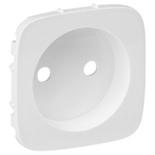 754975 - Лицевая панель для силовой розетки 2К Legrand Valena Allure (белая)