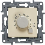 672330 - Терморегулятор для теплых полов, с внешним датчиком, Легранд Этика (слоновая кость)