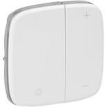 752085 - Лицевая панель для кнопочного светорегулятора Legrand Valena Allure (белая)