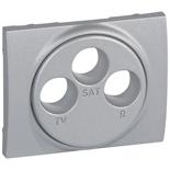 771373 - Лицевая панель розетки TV-FM-SAT, Legrand Galea Life, алюминий