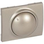 771468 - Лицевая панель для поворотных светорегуляторов (диммеров) Legrand Galea Life мощностью 400Вт, титан