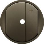 064965 - Лицевая панель светорегулятора (диммера) с подсветкой, Legrand Celiane, графит