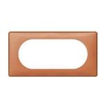 068655 - Рамка 4/5 модулей Legrand Celiane, 161×82мм, пластик (корица)