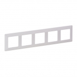 754005 - Рамка пятипостовая Legrand Valena Life (белая)