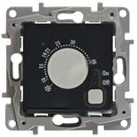 672630 - Термостат для теплых полов, с внешним датчиком, Легранд Этика (антрацит)