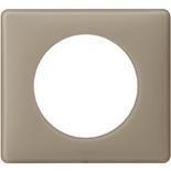 066721 - Рамка однопостовая Legrand Celiane, прямоугольная, 90х82мм (грэй перкаль)
