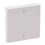 755120 - Лицевая панель для выключателя двухполюсного Legrand Valena Life (белая)