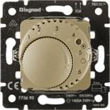 775690 - Механизм термостата для теплых полов, 16А, с датчиком температуры, Legrand Galea Life (титан)
