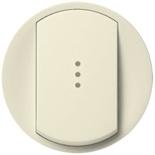 066210 - Лицевая панель для выключателя/переключателя с подсветкой, Легранд Селиан (слоновая кость)