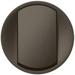 067901 - Лицевая панель для выключателя/переключателя, Legrand Celiane (графит)