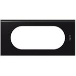 069155 - Рамка Legrand Celiane, 4/5М, прямоугольная, 170х82мм, Corian® (Nocturne)