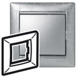 770341 - Рамка 1 пост Legrand Valena (Алюминий модерн)