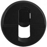 067951 - Лицевая панель для розетки RJ45, Legrand Celiane (графит)