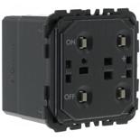 067082 - Механизм светорегулятора кнопочный без нейтрали, 600Вт, Легран Селян