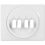 771025 - Лицевая панель для двойной акустической розетки Legrand Galea Life, белая