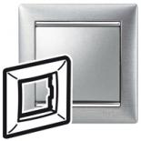 770331 - Рамка 1 пост Legrand Valena (Матовый алюминий)