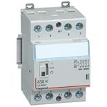 412563 - Контактор Legrand CX3 с катушкой 230V (Un=400В~), 63А, 4П (4 Н.О.), 3 модуля, малошумный, с рукояткой управления