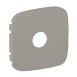754767 - Лицевая панель для ТВ розеток Легранд Валена Аллюр (алюминий)