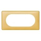 068675 - Рамка 4/5 модулей Legrand Celiane, 161×82мм, пластик (шафран)