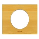 069241 - Рамка однопостовая Legrand Celiane, прямоугольная, 100х82мм, натуральное дерево (бамбук)
