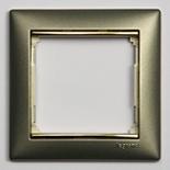 770361 - Рамка 1 пост Legrand Valena (Титан/Золото)