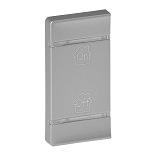 755567 - Лицевая панель для механизмов BUS/SCS, с символом «GEN-On-Off», 1 модуль, установка слева Legrand Valena Life (алюминий)