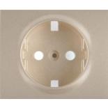 771420 - Лицевая панель для электрической розетки Legrand Galea Life с заземлением, немецкий стандарт, титан