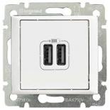 770470 - Розетка USB двойная, Legrand Valena (Белый)