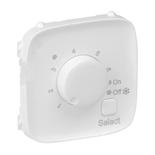 755325 - Лицевая панель для термостата для теплых полов Legrand Valena Allure (белая)