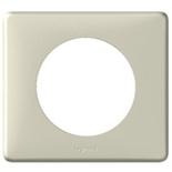 068751 - Рамка однопостовая Legrand Celiane, 90×82мм, пластик (светло-бежевый)