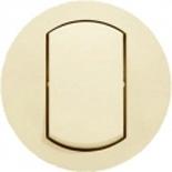 067821 - Лицевая панель выключателя одноклавишного, влагозащищенная (ip44), Legrand Celiane (слоновая кость)